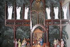 Bożonarodzeniowy wystrój kościoła (04)