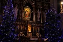Bożonarodzeniowy wystrój kościoła (12)